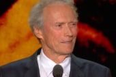 Was Eastwood's speech political comedy?