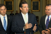 Ted Cruz's role in the looming shutdown