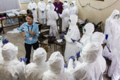 US Ebola patient in contact with kids?
