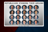 GOP band continue with hardline stance