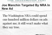 Manchin: NRA has gone off the rails