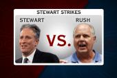 Jon Stewart takes on far right conspiracies