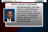 Pres. Obama orders review of US aid to Egypt