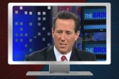 Santorum will consider a VP slot