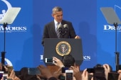 President Obama stays on offense