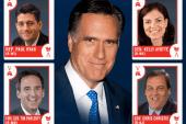 Who tops Romney's VP list?