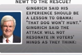 Gingrich gives Obama advice on Bain attacks
