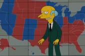 Mr. Burns endorses Romney
