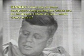 Rare glimpse of JFK's off-air persona