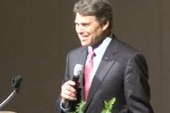 Rick Perry jokes about own campaign for...