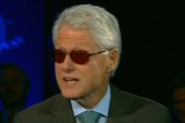 Bill Clinton impersonates Bono