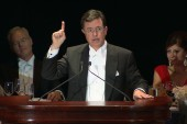 Colbert gives keynote at Smith dinner