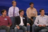 Romney sons make appearance on late night