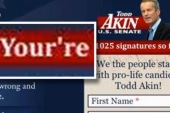 Akin wants voters to tell opponents 'your...
