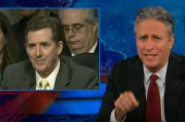 Jon Stewart takes on soft Senate...