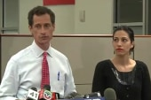 Weiner holds press conference in wake of...