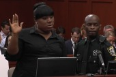 Trayvon Martin's friend takes the stand...