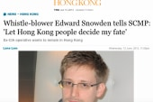 Snowden resurfaces as paranoia over...
