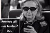 Romney's 'binders full of women' comment...