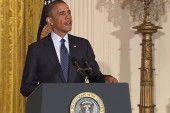 Obama speaks out, takes charge