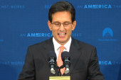 Fight inside the right: the Cantor aftermath