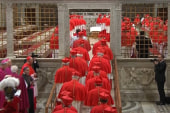 Papal conclave convenes to choose new pope