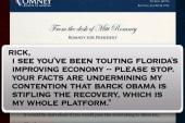 Team Obama releases mock Romney letter