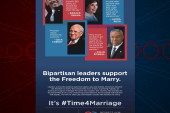 Bipartisan push for marriage equality