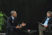 Obama, Galifianakis chat 'Between Two Ferns'