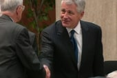 Neocons losing as support for Hagel rises