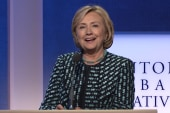 Would Clinton's candidacy be a 'train wreck'?