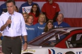 Romney-Ryan drives away with Nascar support
