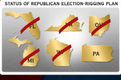 GOP's new scheme: rig the election