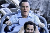Average Mitt hits California for vacation