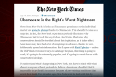 Are Republicans afraid Obamacare will...