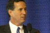 Santorum: Romney may be bad, but not as...