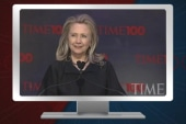 Sec. Clinton honored by TIME, keeps an eye...