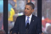 Obama's 'reflective' Mandela tribute