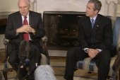 Bush's relationship with Cheney is 'cordial'