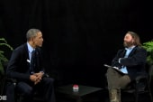 Far-right frowns at Obama 'Between Two Ferns'