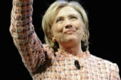 Clinton's rocky book tour roll-out