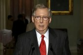 Mitch McConnell stays silent on Syria debate