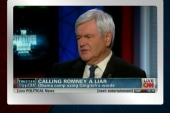 Gingrich still thinks Romney is a liar