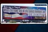 Dems taunt GOP with cheery billboard
