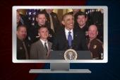 Barack Obama sings 'Jingle Bells'