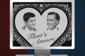 Romney and Ryan: 'That's Amore'