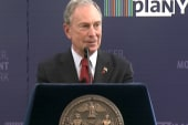 Bloomberg urges donors to withhold cash...