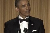 Obama throws jokes, small punches at White...