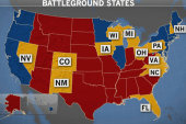 Checking in on battleground states