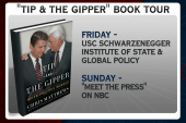 'Tip and the Gipper' book tour kicks off